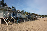 Beach Huts Wells beach Wells next to Sea Norfolk