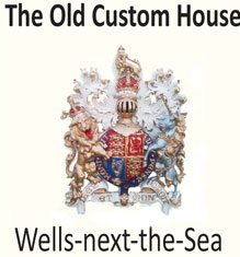 The Old Custom House - customs crest still affixed to building
